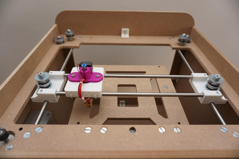 mechanik bausatz f r corexy 3d drucker small. Black Bedroom Furniture Sets. Home Design Ideas